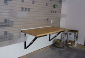 Bench Solutions folding workbench