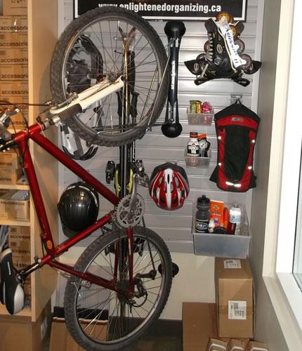 Steadyrack bike rack - Bike storage for small spaces image ...