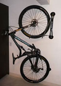 Steadyrack vertical bike storage system