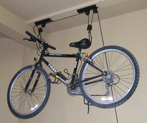 storage solutions racks garage bike the best bicycle hoist for