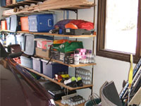 enlightened organizing garage storage system