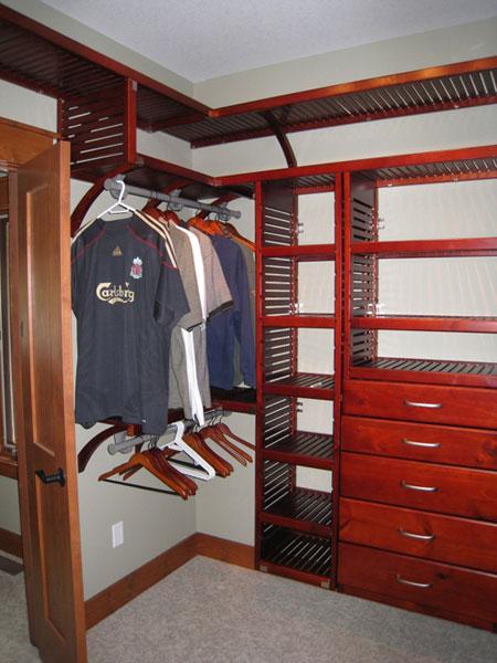 John Louis Custom Closet Installation